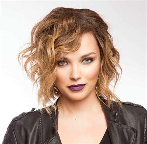 do short blunt curly haircuts look good on heavy women cortes de cabelos ondulados 2018 longos m 233 dios curtos