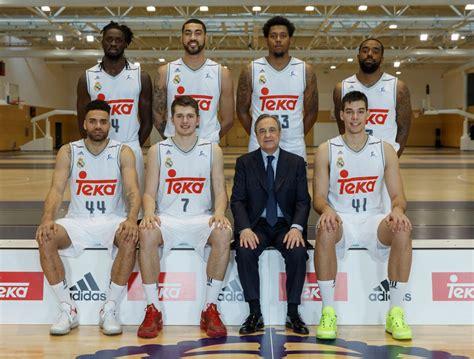 fotos real madrid baloncesto as 237 se hizo la foto oficial del real madrid de baloncesto