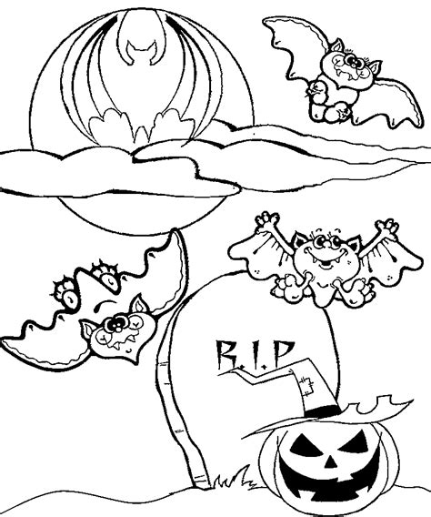 halloween coloring pages bats bat coloring pages for halloween coloring home