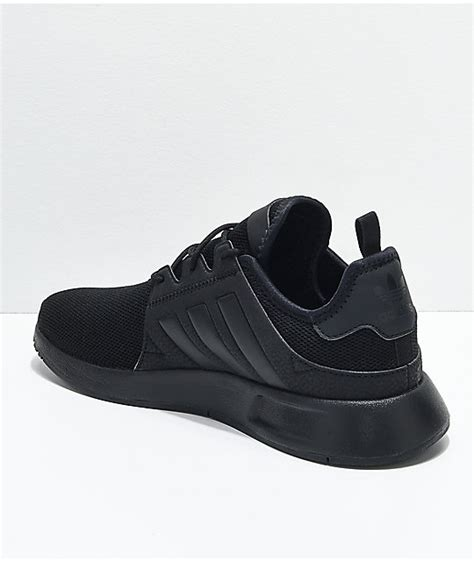 adidas black shoes pictures