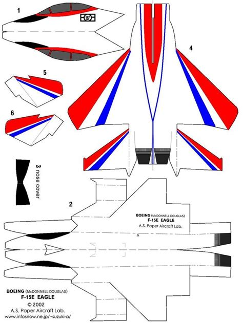 How To Make A Eagle Paper Airplane - nasa experimental f 15 eagle by skywarpg1 on deviantart