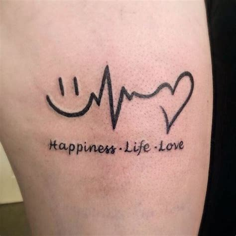 happy tattoos 160 emotional lifeline that will speak directly to