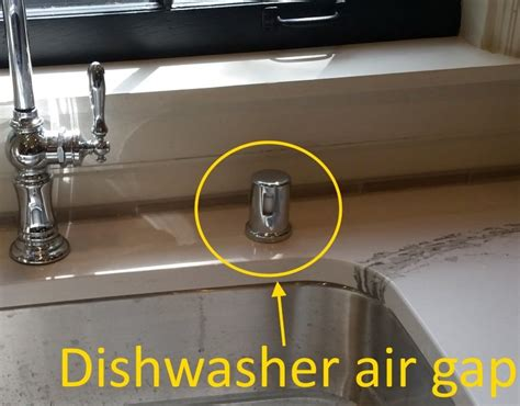 dishwasher air gap under dishwasher air gaps structure tech home inspections