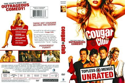 unrated video cougar club unrated movie dvd scanned covers cougar