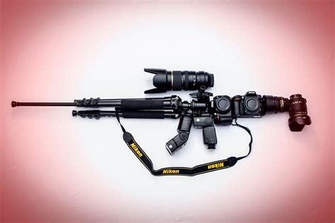 Camera Gun Wallpaper | camera background nikon m16 assault rifle military weapon