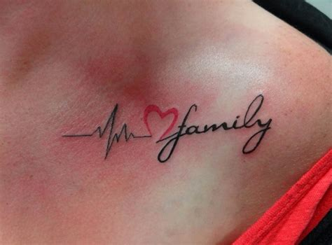 Heartbeat Tattoo On Chest Meaning | heartbeat tattoos designs ideas and meaning tattoos for you