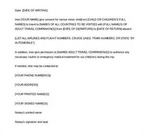 Permission Notarized Letter Notarized Letter Template 8 Free Word Pdf Documents Free Premium Templates