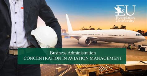 Mba In Airline And Airport Management In Canada by Mba In Aviation Management Everglades