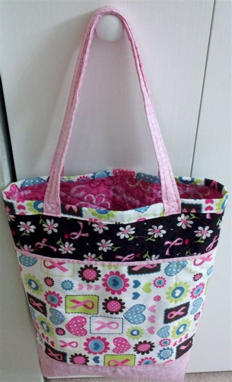 free tote bag pattern with inside pockets the fancy shopper s tote bag free pattern