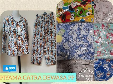 Piyama Js For sentra grosir piyama katun catra dewasa pp murah bandung 64ribu