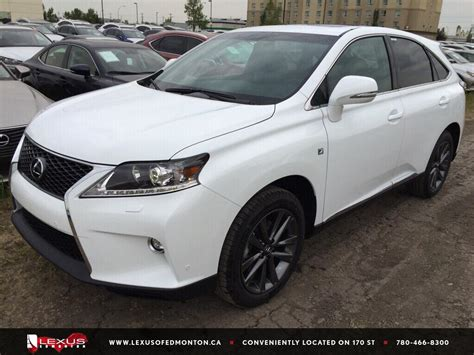 lexus sport 4 door new 2015 lexus rx 350 f sport package 4 door sport utility