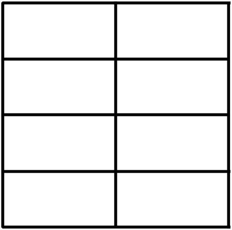 Html Table 2 Columns 2 Column 4 Row Table Clip At Clker Vector Clip