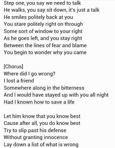 Pin by Rachel Steiner on Lyrics. | Just lyrics, Love songs