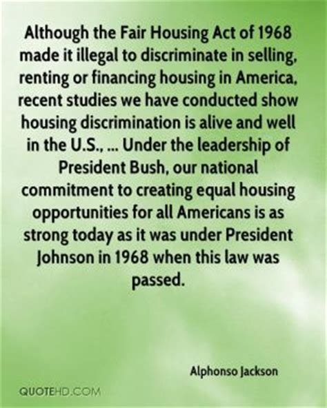 fair housing act of 1968 renting quotes page 1 quotehd