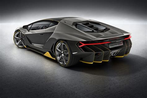 Lamborghini Back Lamborghini Centenario Debuts At Geneva Just 40 To Be
