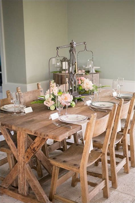 Rustic Dining Table Decor by 109 Best Dining Table Ideas Images On Diy