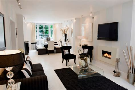 black white home decor take inspiration from luxury properties home bunch interior design ideas