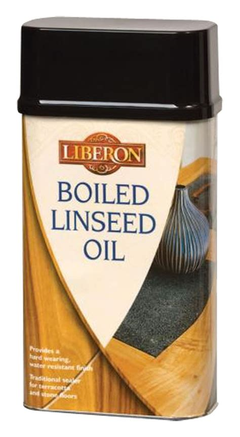 Liberon Boiled Linseed Oil : £5.26