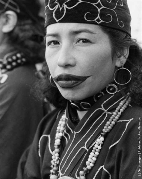 vintage everyday photos of ainu