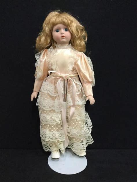 porcelain doll no markings beautiful 16 quot porcelain doll