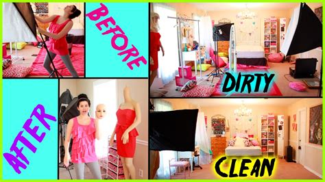 how to clean your room before after cleaning