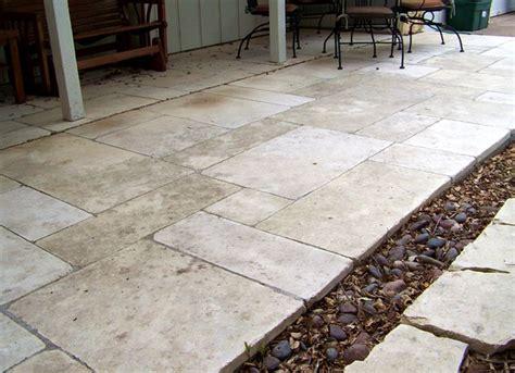 Limestone Patios by Cut Limestone Patio Elizabeth Mcgreevy
