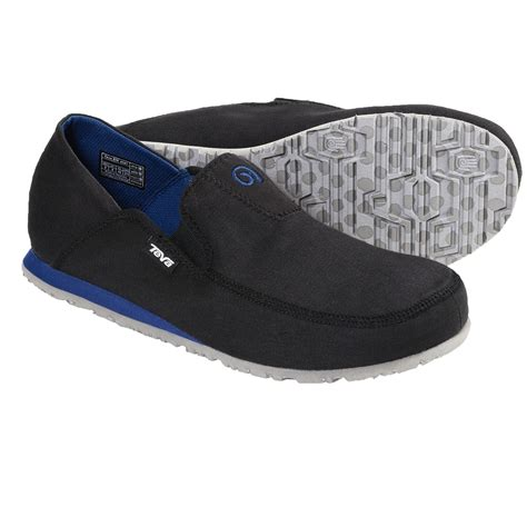 teva mush 174 frio canvas shoes slip ons for save 34