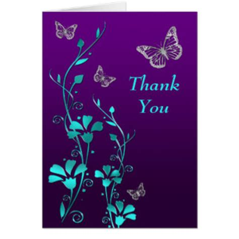purple thank you card templates gray and purple butterfly thank you cards gray and purple