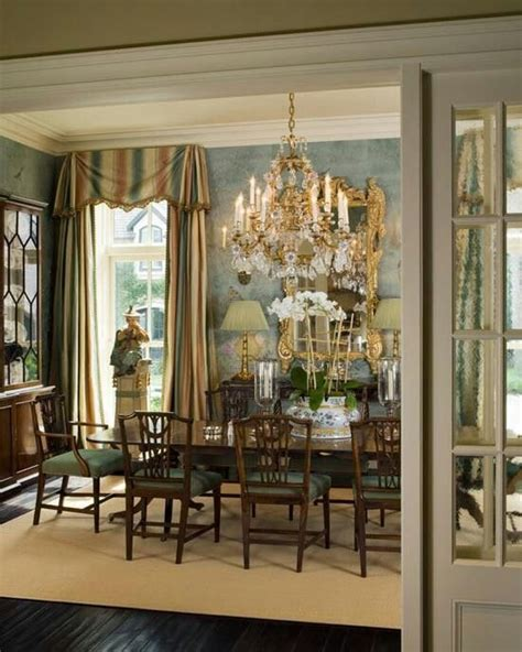 formal dining room window treatments formal dinning area home breakfast dinning rooms
