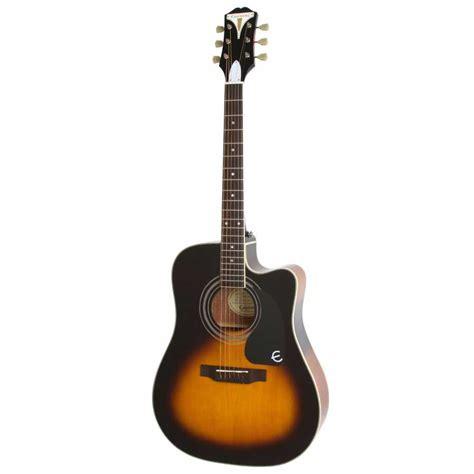 Gitar Akustik Elektrik Epipone Pro 1 Original 1 epiphone pro 1 ultra elektro akustik gitar vintage sunburst doremusic