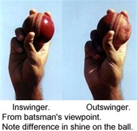 cricket swing bowling grip swing bowling in cricket a n j a l i