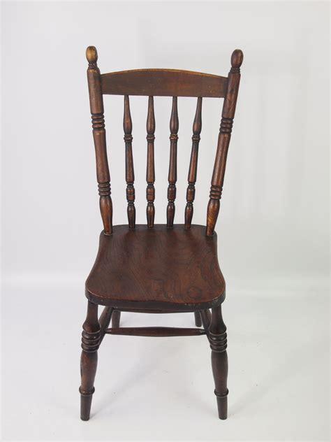 pair antique kitchen chairs