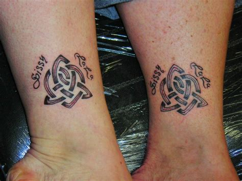celtic sister knot tattoo designs knot tattoos and designs page 54