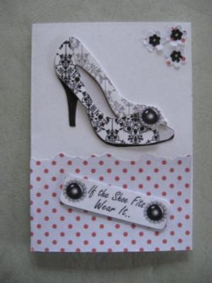 Shoe Decoupage - iris folding and more from valerie