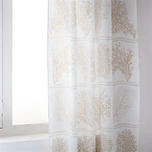 coral digital print linen curtain curtains bedroom