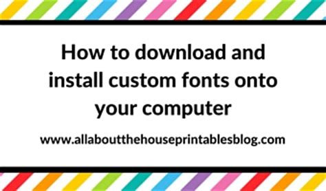 how to install and use a graphic style in adobe illustrator how to download and install custom fonts onto your computer