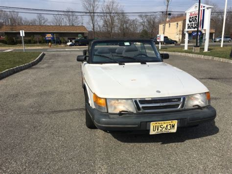 1991 white convertible 24 900 buy or sell classic buick reatta coupe or convertible 1991 saab 900 turbo convertible classic saab 900 1991 for sale