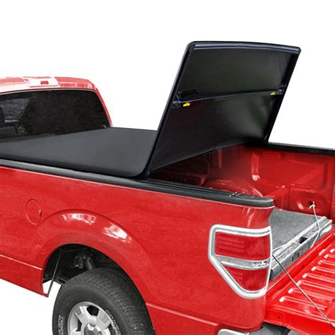 Tyger Tri Fold Tonneau Cover - tyger 174 nissan frontier with utility track system