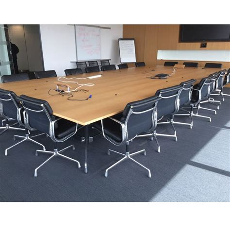 Vitra Meeting Table Original Vitra Eames Boardroom Table 5 6l X 2 7d Large Boardroom Table Conference Table For