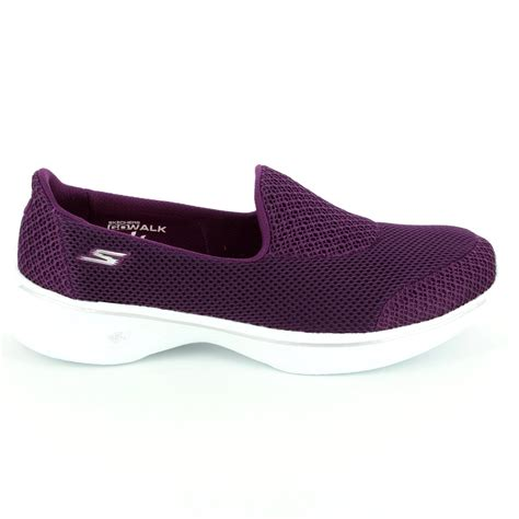 Skechers Walk 4 by Skechers Go Walk 4 14170 Ras Purple Trainers