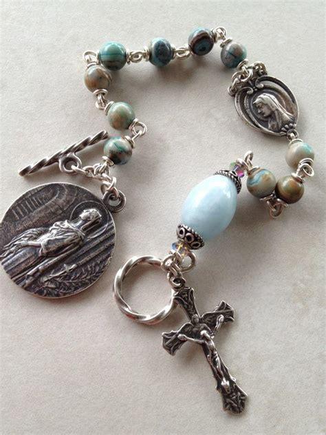 rosary bead bracelet all beautiful catholic past rosary bracelets gallery