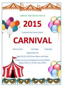 carnival flyer template school carnival flyer template