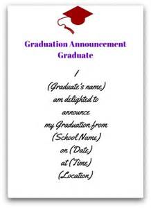 exle of graduation invitation wedding invitation ideas
