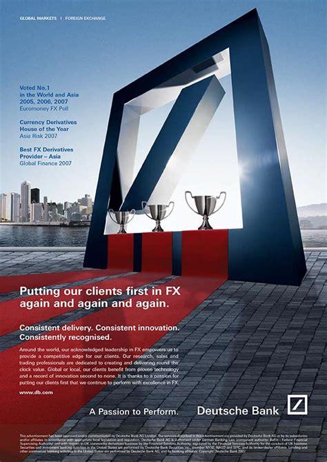 deutsche bank client login pre inception corporate design and creative services