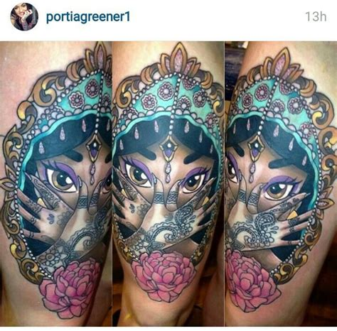 princess jasmine tattoo designs the 25 best princess ideas on