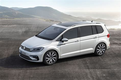 volkswagen germany 2016 volkswagen touran r line package launched in germany
