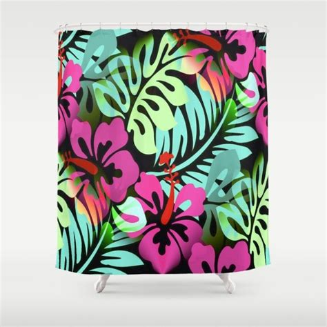 hawaiian print shower curtains 815 best images about custom shower curtains on pinterest