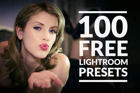 100 Free Lightroom Presets to Download