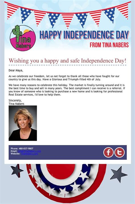 12 Best Images About Email Blast Design Real Estate On Pinterest Click Template And We Happy 4th Of July Email Template