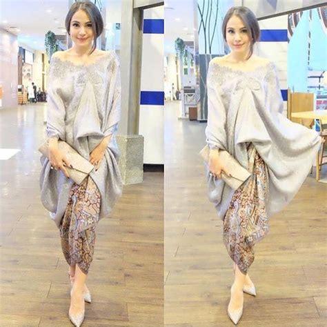 Kebaya Bordir Senada 9 8 inspirasi baju bukan kebaya untuk lamaran simpel plus tetap elegan